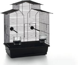 Vogelkäfig Iza 2 Pagode - Schwarz - Beeztees